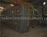 Semi-remorque à plateau semi-plat de 40 pieds (pour le marché du Mozambique)