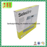 Caixa de papel estampada impressa para embalagem em escala