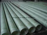 Fibre de verre ou pipe de GRP pour le produit chimique, l'eau, saumure, industries d'eaux d'égout