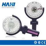 Plastic Portable Cooling Travel Handheld Small Rechargeable Fan