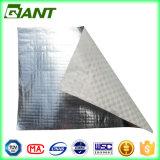 Folha de alumínio com tecidos