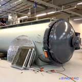 2800X8000mm 치료를 위한 전기 난방 오토클레이브 합성물 (SN-CGF2880)