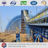 Construção de aço pré-fabricada do transporte para a central energética