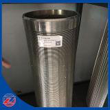 Filtro per pozzi dell'acqua per controllo della sabbia/filtro scanalato buono