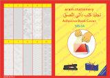 Auto adhesivo de PVC de plástico cubierta de libro etiquetas personalizadas