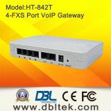 PSTN와 조화시킬 것이다 4FXS 포트에 ATA VoIP는 전화를 건다 (HT-842T)