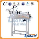 Máquina de Enchimento de Líquido Semi-automático para a nata/Óleo/Unguento/bebidas