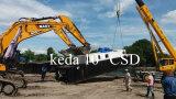 Le meilleur dragueur de sable de fleuve de Buket de capacité en Chine