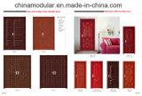 Porte en bois en PVC pour hôtels / auberges (CHAM-HRD01)