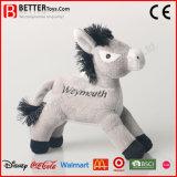 Vulde het Zachte Stuk speelgoed van de Pluche van de Gift van de bevordering Dierlijk Paard