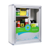 Armário de Primeiros Socorros de alumínio Grande Capacidade Medicina Caixa de arrumação segura