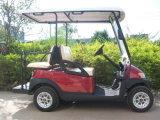 Coche eléctrico del golf de Seater de la venta caliente 4 para el campo de golf
