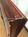 Installation rapide, joint facile et guichet en aluminium de tissu pour rideaux de coûts de travail d'économie
