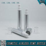 5ml 10ml 12ml 15ml Silver Cosmetic Airless Lotion Plastic Spray Bottle