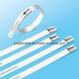 Ataduras de cables aprobadas del acero de la UL Ss304 Ss316