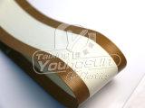 Anti-adherente de la correa de teflon para rodillos de empaquetadora wc