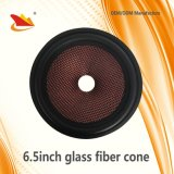 Coche Parts-Glass 6.5inch Altavoces de cono de fibra