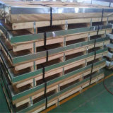 China de la hoja AISI430 Material Acero inoxidable Ba Nº 4 Acabado con revestimiento de PVC