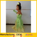 Traje Princess Plush Costume Tiana Mascot