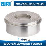 Metálica de acero inoxidable asentada la válvula de retención