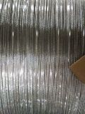 직류 전기를 통하는. 철강선, 까만 철강선 0.45
