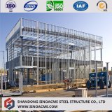Prefabricated Large Span Light Steel Structural 4s Car Exhibition Building