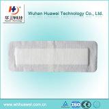 Pansement auto-adhésif non-tissé stérile absorbant élevé