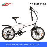 Ciudad Verde Ebike Plegable con 250W Hub Motor