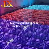 磁石の党のための無線携帯用時間トンネルDJ 3DミラーRGB LEDのダンス・フロア