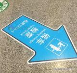 Изготовленный на заказ водоустойчивый стикер Deriction пола Railway/станции метро