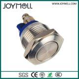 Pulsador impermeable IP67 del metal eléctrico del Ce
