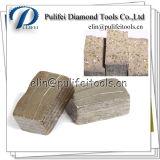 Segmento concreto do diamante da pedra circular do mármore do granito da peça do cortador do disco