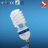 Espiral meia 55W lâmpadas economizadoras de energia, CFL lâmpada fluorescente compacta
