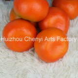 Factory Direct Salefine frutta artificiale arancione