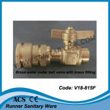 Compteur d'eau en laiton vanne (V18-815)