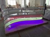 LED 빛 7 색깔에 의하여 바꾸어지는 나이트 클럽 접수처
