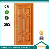 O MDF HDF interiores pintados porta de madeira sólida para os projectos