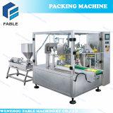 Macchina imballatrice rotativa del materiale da otturazione di peso della chiusura trilaterale (FA6-300-L)