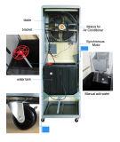 Refrigerador de ar ereto da inundação com o condicionador de ar evaporativo da roda no dispositivo da HOME e de escritório