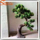 4fによっては装飾の人工的な松の木が家へ帰る