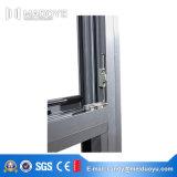 Guichet en aluminium de qualité avec l'exécution ouverte de tissu pour rideaux