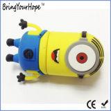 노란 귀여운 앞잡이 디자인 USB 섬광 드라이브 (XH-USB-145)
