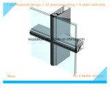 Mur rideau en verre (mur rideau invisible)