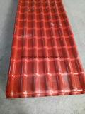 Teja de teja de resina sintética ASA de venta caliente