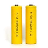 Batería recargable Ni-CD del AA 1.2V