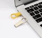 Mini Keyring del mecanismo impulsor del flash del USB del metal del diseño simple