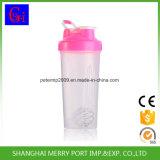 600ml 21oz BPA livram o copo plástico do abanador do frasco do abanador com a esfera de aço de Stainess