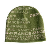 Cappello differente del Beanie di colore verde (JRK008)