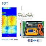 Analyse de caractéristiques de résistivité le détecteur profond de l'eau souterraine