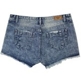 Ladeis Popular & Good Lave gros courts Jeans (MY-035)